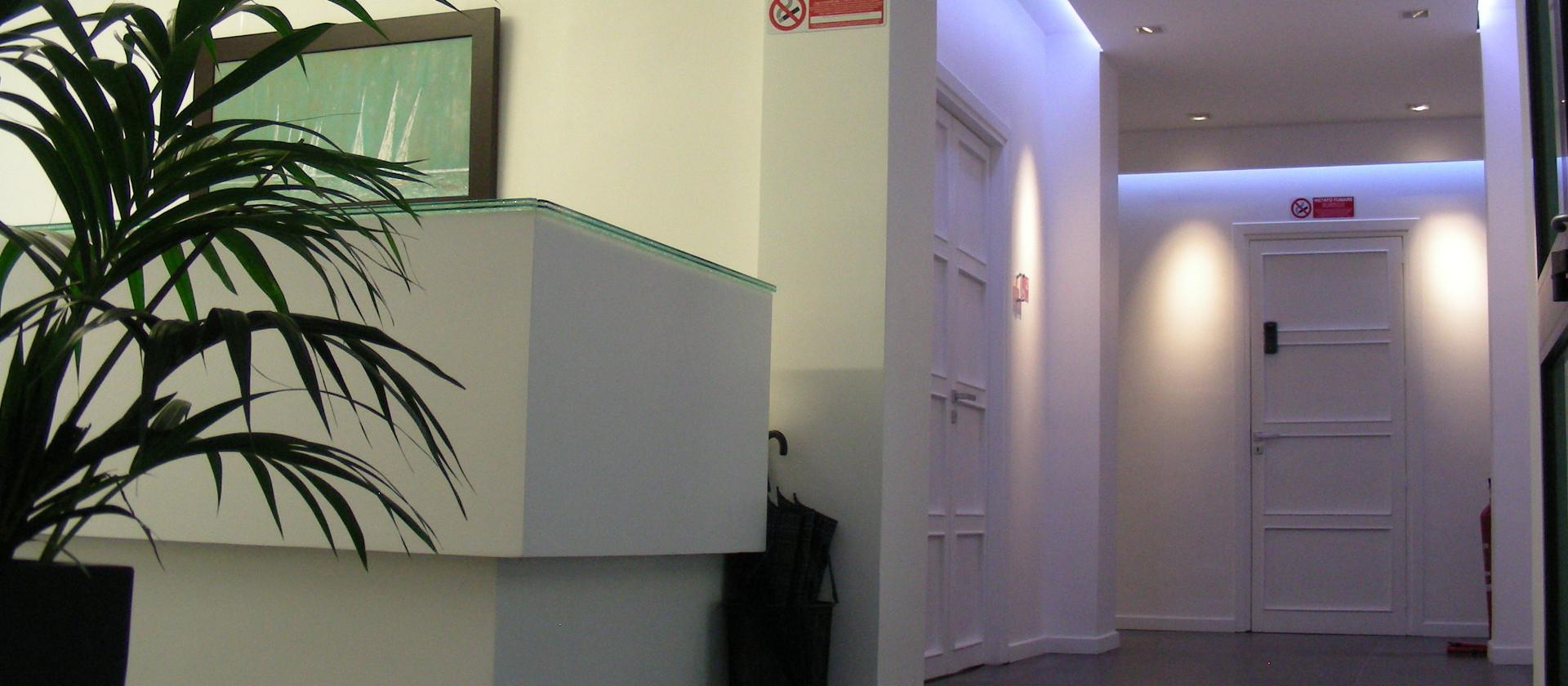 Impianto elettrico ed illuminotecnico di un ufficio